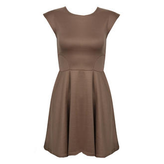 View Item Mocha Skater Dress